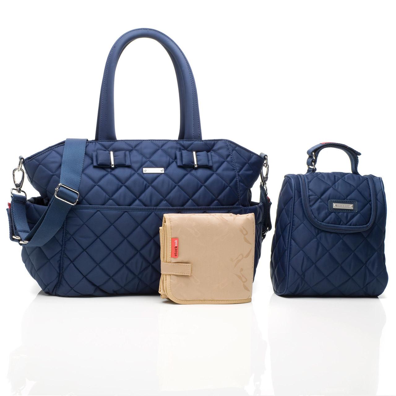 1ff5ba5c867ff Storksak Bobby Baby Nappy Bag Navy - Buy Baby Diaper Changing Bags ...