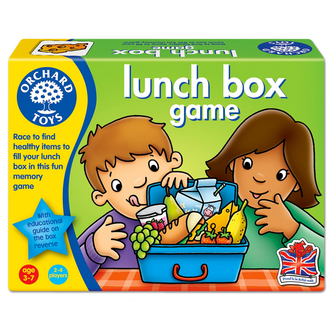 Orchard Toys Lunch Box Game - Kids Educational Games Online