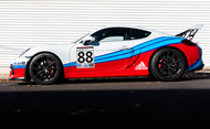 2016 Porsche Cayman GT4 Martini | In the Shop