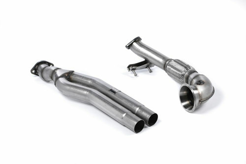 MillTek Audi RS3 Sportback Primary Cat Bypass Pipe Turbo Elbow (2015-2017)