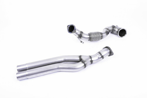 MillTek Audi RS3 Sportback Cat Bypass Large-bore Downpipe (2017-2018)