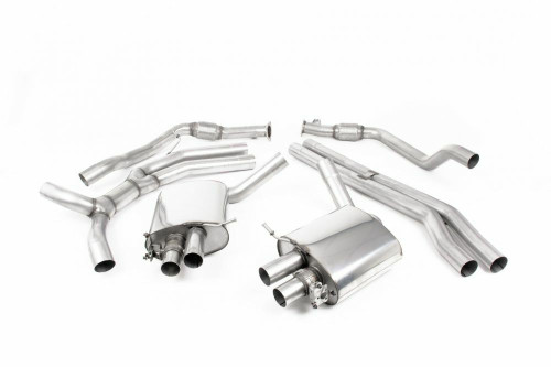 MillTek Audi RS4 Cat-Back Exhaust System (2018)