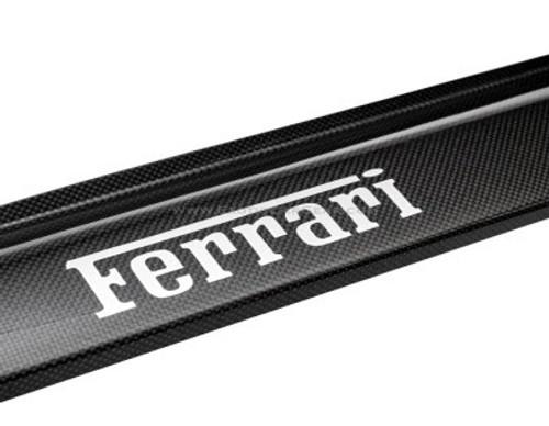 """OEM Door Steps - Door Sills               Imbeded """"Ferrari"""" Silver Script"""