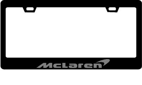 McLaren CF Plate Frame GREY TEXT only