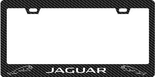 Jaguar Plate Frame Outline Text and Cats