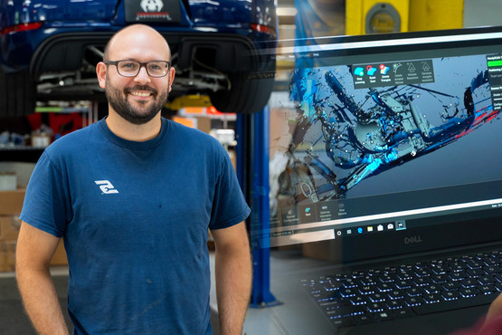 Reverse Engineering Exhausts with Fabspeed's New $50k 3D Scanner | Fabspeed R&D