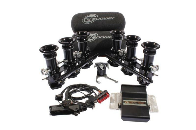 """Porsche 964 Plug & Play Throttle Body Kit - AT Power has developed a unique range of Direct to Head throttle bodies for the Porsche 911, 964 and 993, Air-Cooled Classics. The air-cooled range suits our """"Patented-Shaft-Less"""" throttle technology perfectly."""