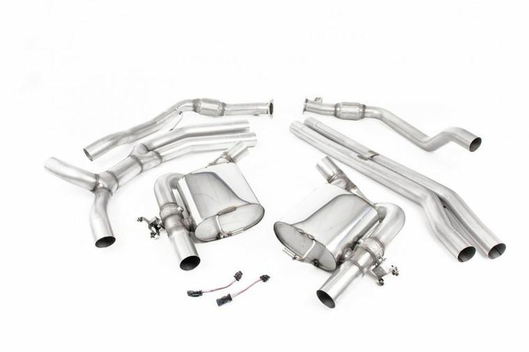 MillTek Audi RS4 Cat-Back Exhaust System (2019-2021)