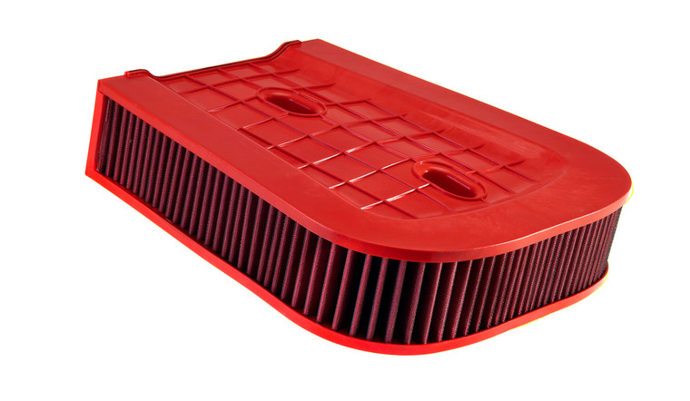 High performance drop-in replacement for the factory air filters; fits OEM Bentley Bentayga 4.0L V8 Twin Turbo air box for maximum airflow and performance.