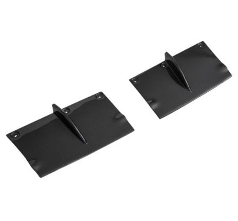 Right and Left Rear Bumper Diffuser Panels