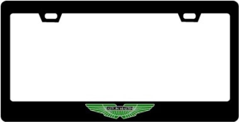 Aston Martin CF Plate Frame Color Logo Only