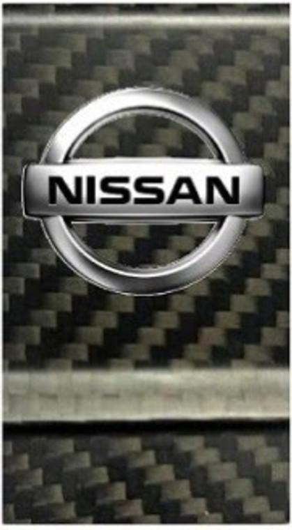 Nissan Logo Carbon Fiber Money Clip