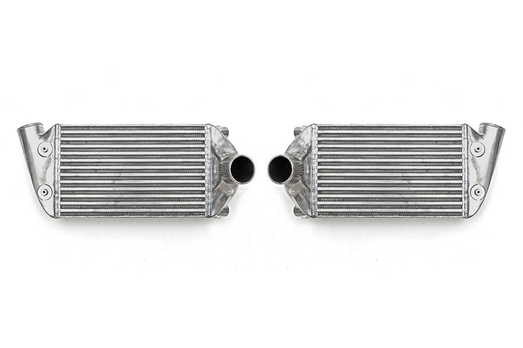 Achieve quicker boost and increase power with upgraded intercoolers