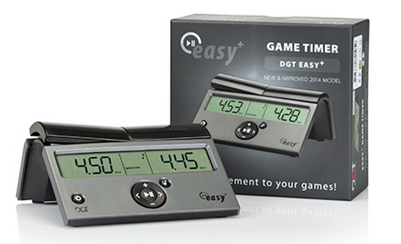 DGT Easy Plus Chess Clock (DGT-PLUS) in box