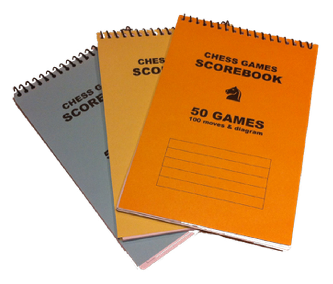 A5 Chess Score Book (AS101)