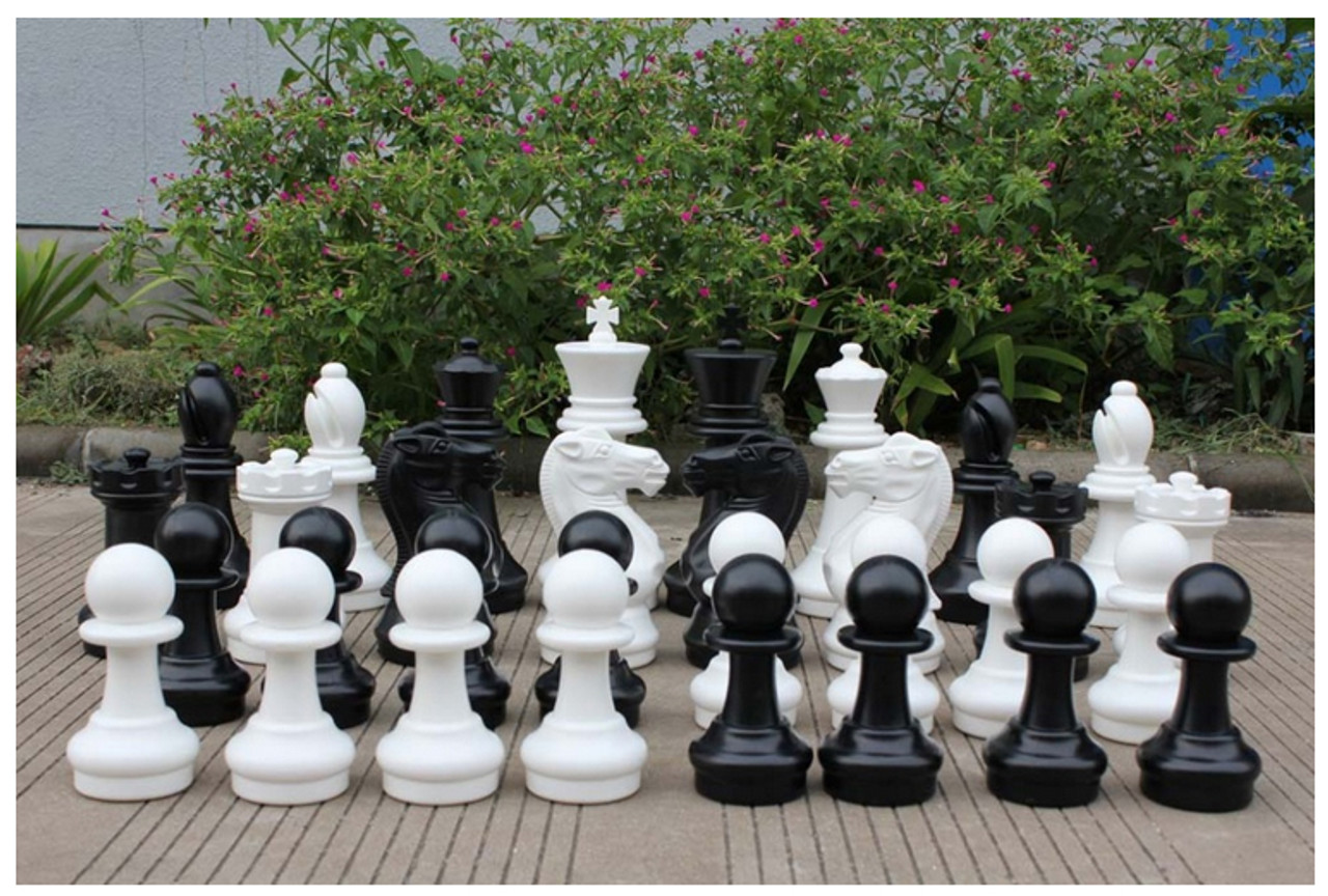 Giant Chess 40cm Giant Chess Outdoor / Indoor Set (GC401) pieces