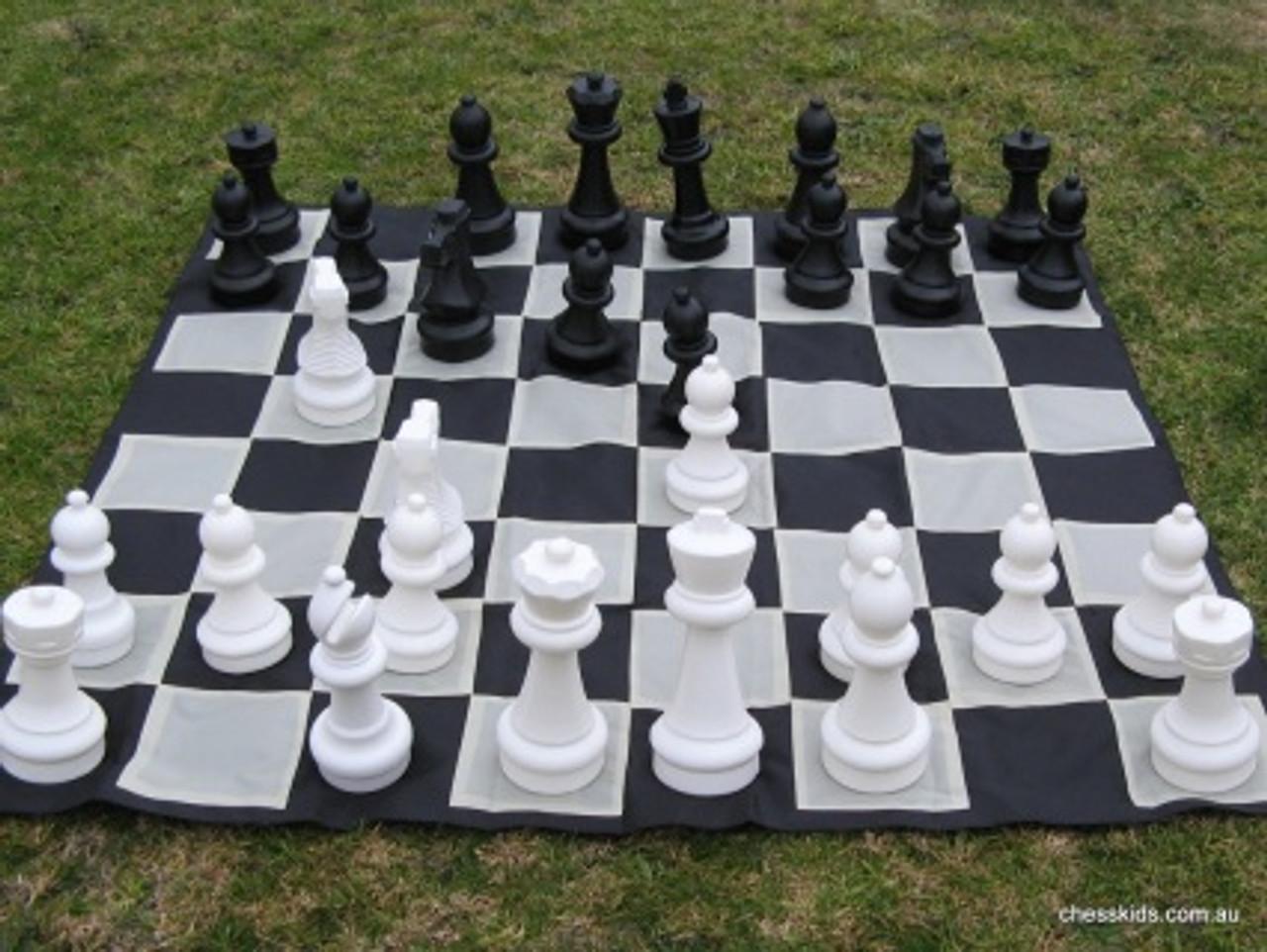 Giant Chess 30cm Garden / Outdoor Chess Set (GC321) full set