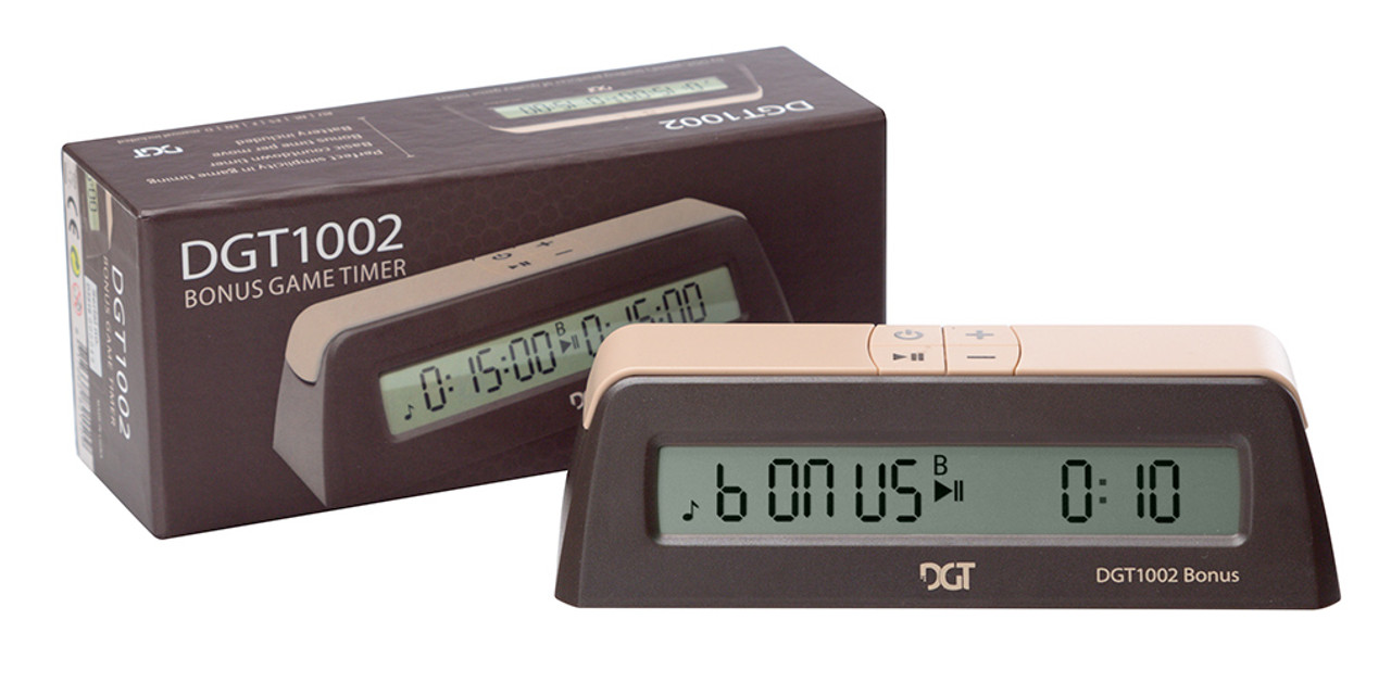 DGT 1002 Digital Chess Clock (DGT-1002) with box