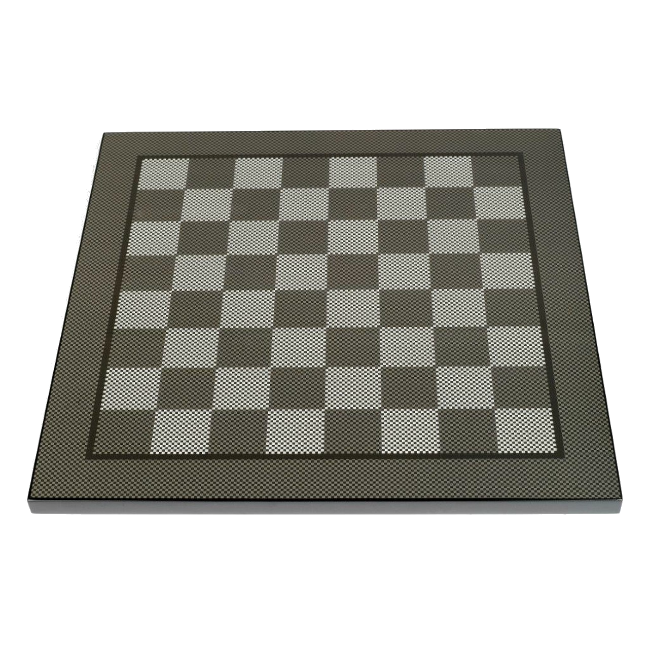 Dal Rossi 50cm Carbon Fibre Look Chess Board (L7906DR)