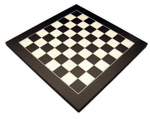 Dal Rossi 40cm Black / Erable Chess Board (L7902DR)