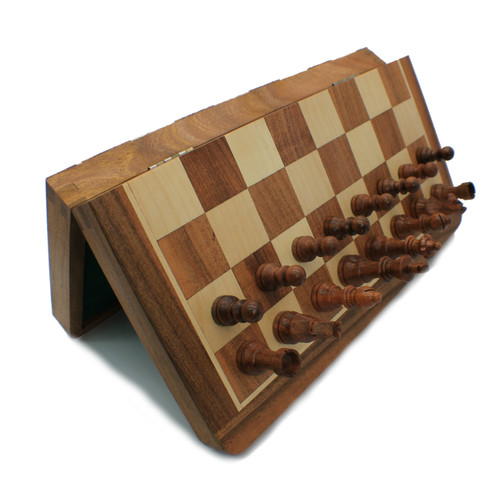 "Rex Noir 36cm / 14"" Flip Magnetic Travel Chess Set (FLI-S-36)"