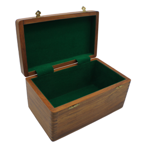 Rex Noir Sheesham Chess Storage Box - Large (BOX-S-95)