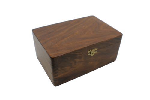 Rex Noir Sheesham Chess Storage Box - Medium (BOX-S-85)