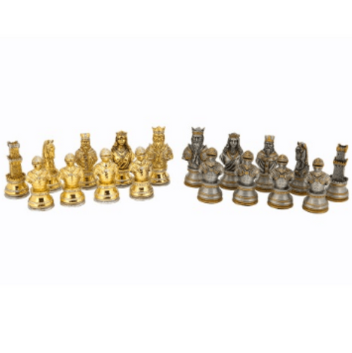 Dal Rossi Warriors Resin Chess Pieces (L2238DR) pieces only