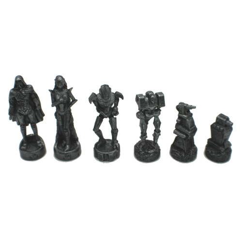 Dal Rossi Mad Max Robot Chess Pieces (L2240DR)