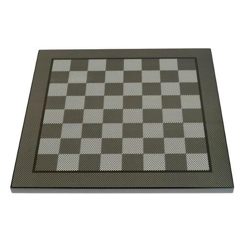 Dal Rossi 50cm Carbon Fibre Look Chess Board (L7906DR)