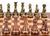 Dal Rossi 110mm Bronze / Copper Colour Chess Pieces (L3223DR) on board