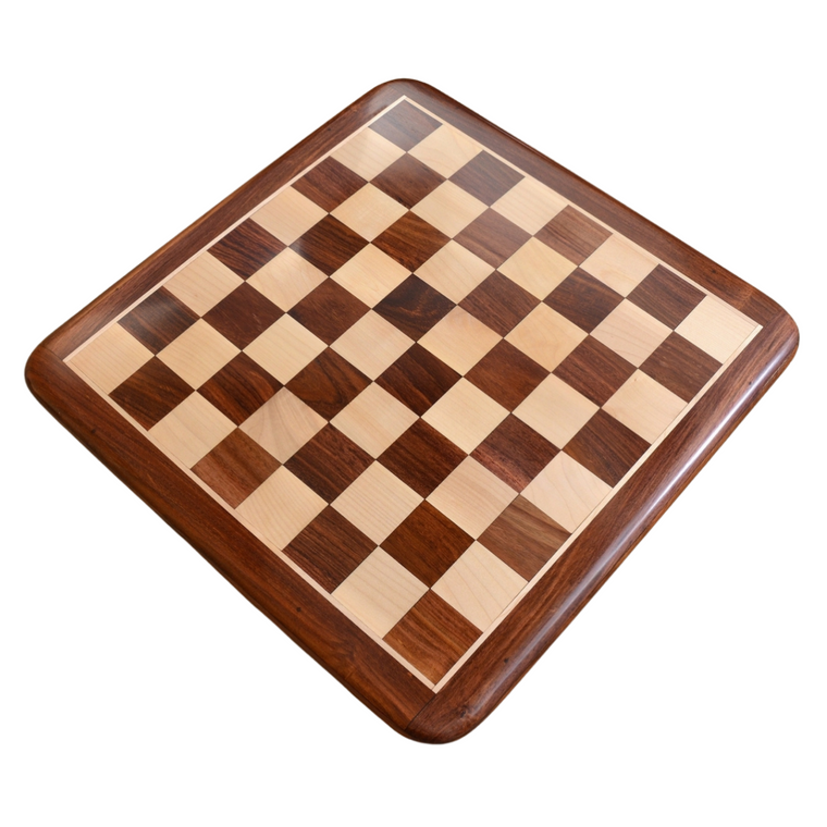 Rex Noir Discipline 45cm Sheesham Chess Board (DIS-S-45) board