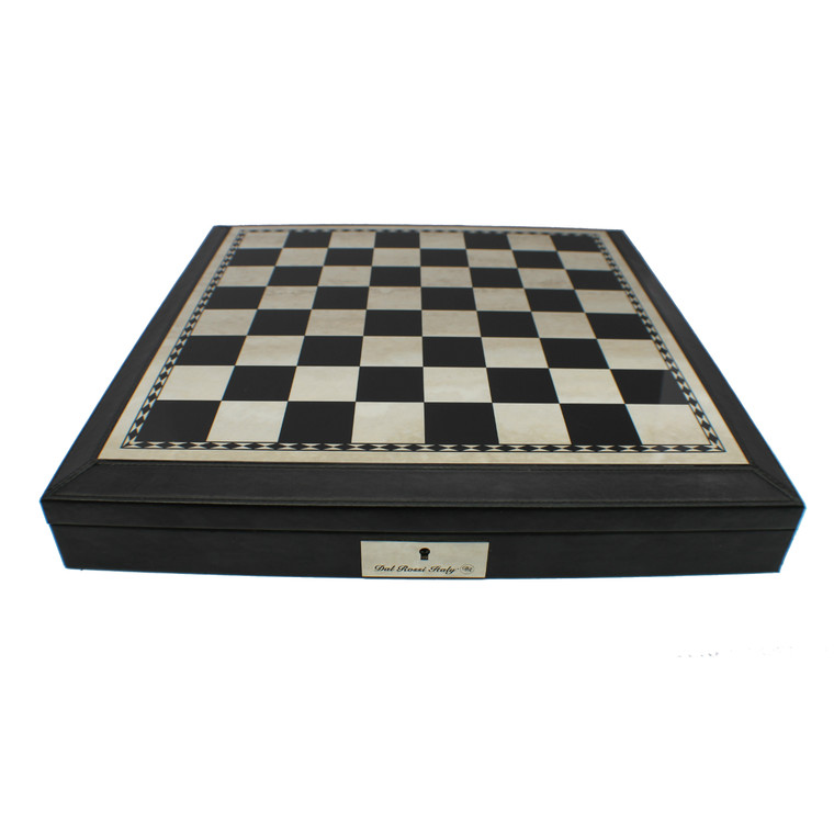 Dal Rossi Black PU Leather 45cm Board with Storage (Board Only) (L2235DR) board