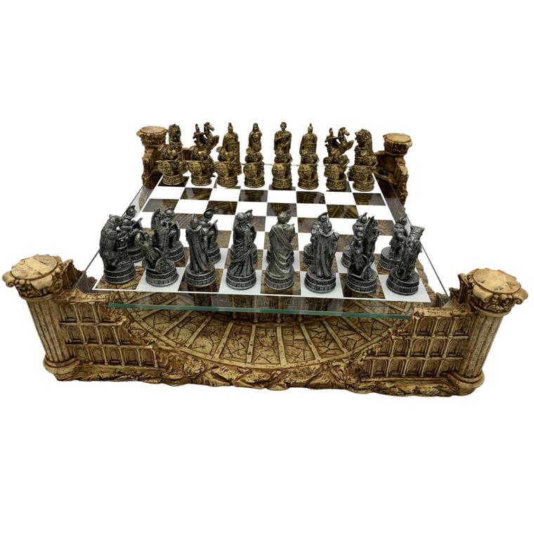 Dal Rossi Roman Colosseum Chess Set (L2216DR)