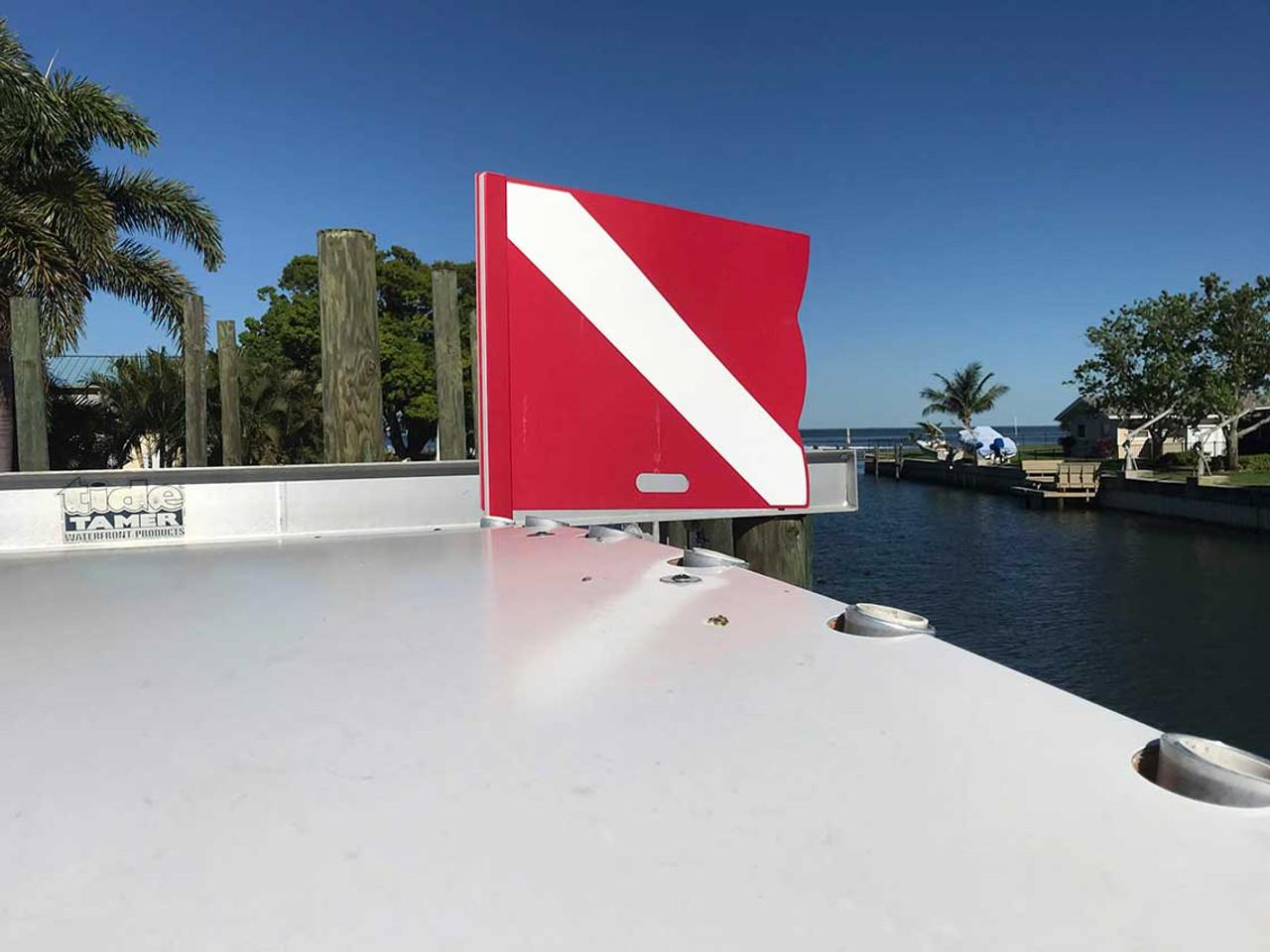 Mangrove Marine Hard Dive Flag
