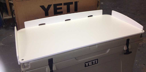"For the serious fisherman.  The Standard Model Yeti Tundra Series Cutting Board, with ""Fit and Go"" features.  No Drilling Holes.   Created by Mangrove Marine Products of Tampa Bay, Florida USA"