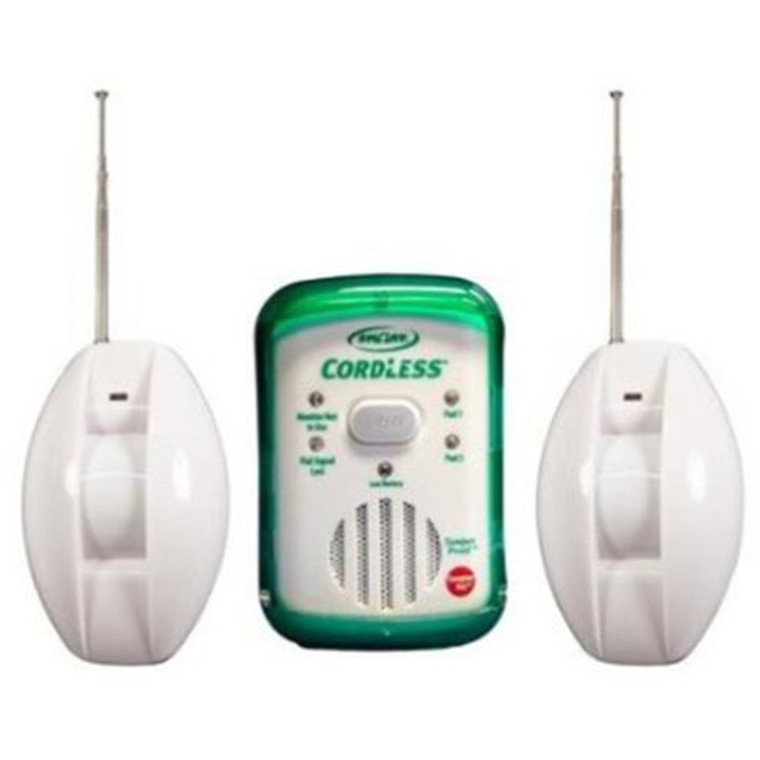 Cordless Fall Monitor and Two Infrared Motion Sensor
