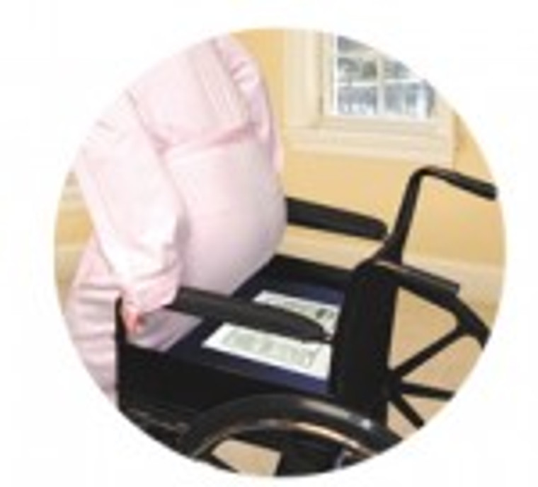 Economy Cordless Chair Exit Alarm Monitor with Chair Pad