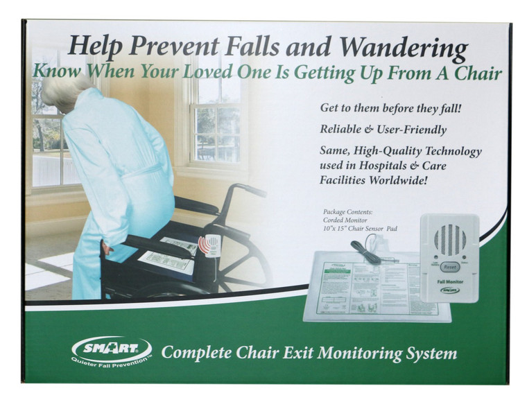 Complete Corded Chair Exit Monitoring Pad In-A-Box