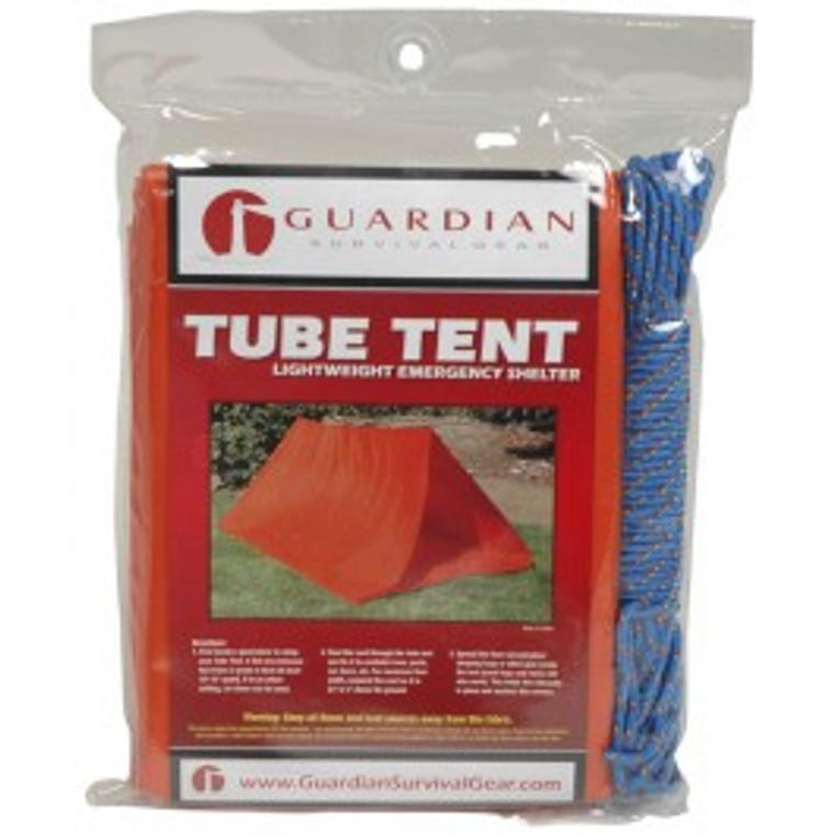 2-Person Tube Tent with Cord; 2-Person