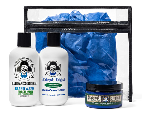 Triple Mint Beard Kit Trio