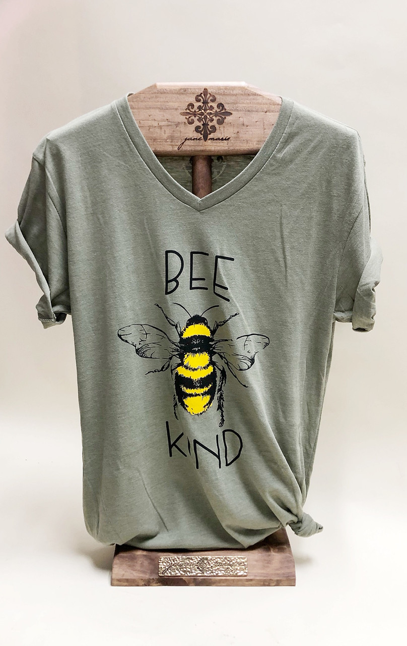 Bee Kind T- Shirt | Loveland Flower Delivery| Earle's Flowers