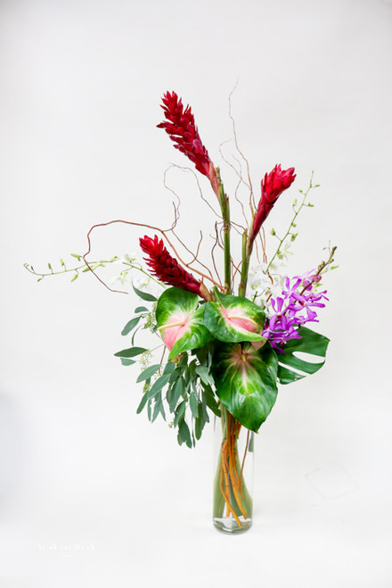 Tropical Extravaganza Vase Arrangement