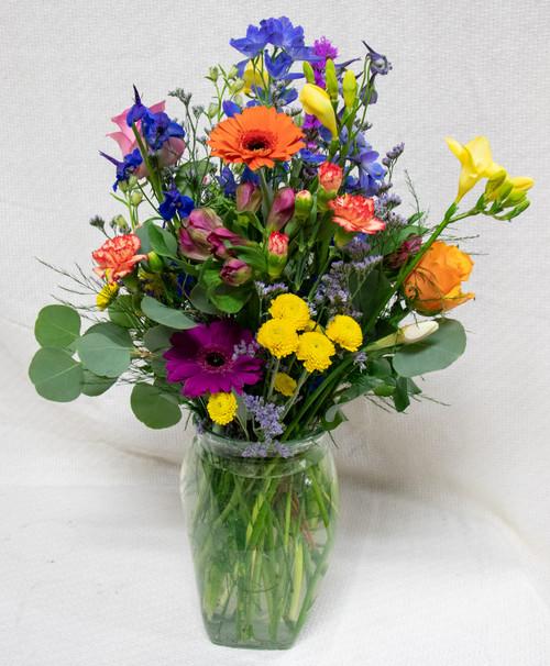 She's A Wildflower Vase Arrangement