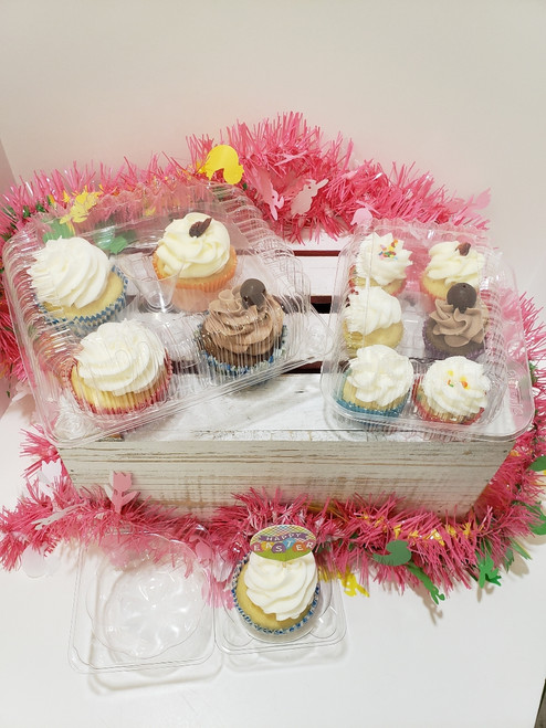 Send cupcakes from a Local Loveland bakery - B. Sweet Cupcakes. You can send 1, 4 or 6 minis.