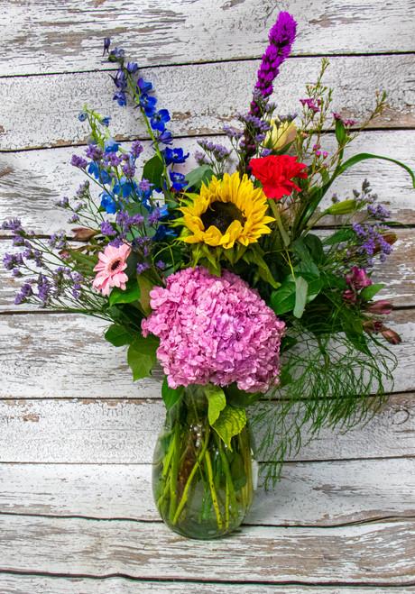 Because You're Loved Vase Arrangement