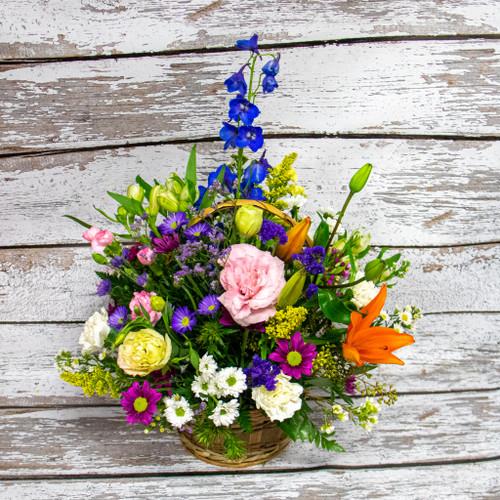 Garden Basket Arrangement