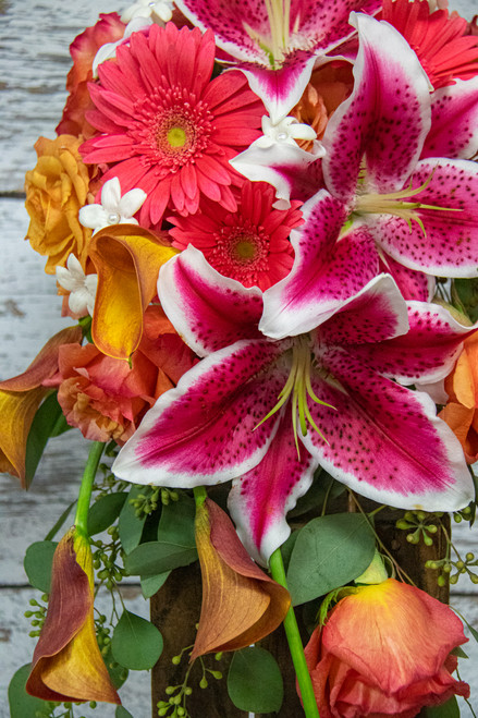 Gazing Cascade Bridal Bouquet