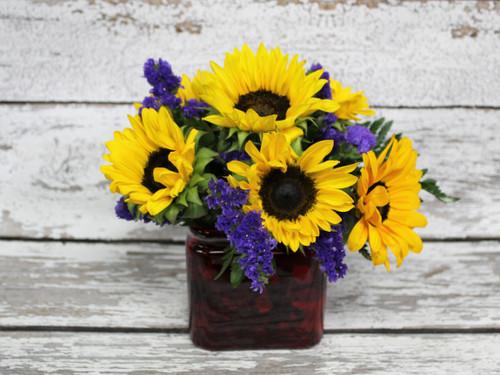 Colorado Sun Vase Arrangement