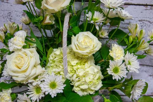 Designer's Choice Sympathy Vase Arrangement (Lg)
